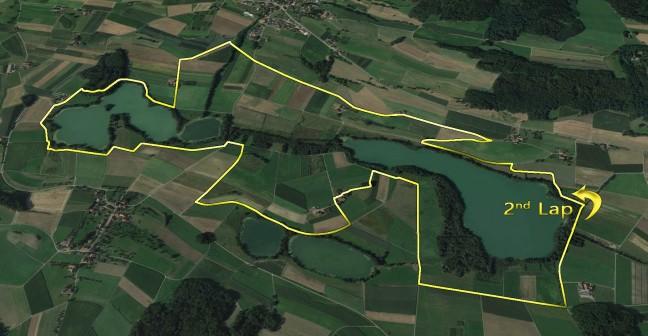 Laufstrecke Halbmarathon